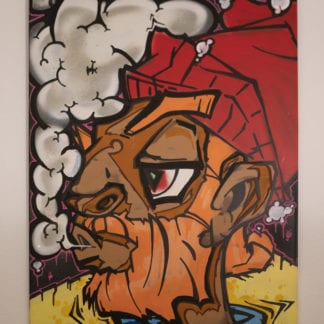 Graffiti / Leinwände